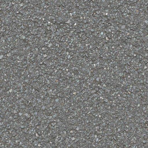 Seamless asphalt tarmac road