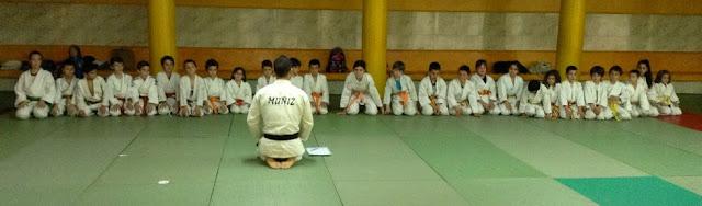 Vuelta a las clases de Judo 2014-15
