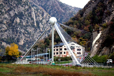 Bridge in La Massana Andorra