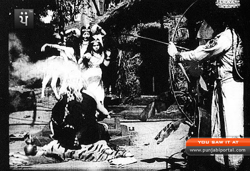 Still from Raja Harishchandra