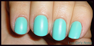knockout cosmetics flatte liberty nail polish swatch