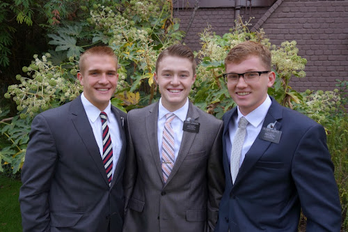 Three best friends. Elder Ballard, Elder Johnson, Elder Mertz