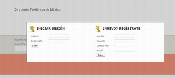 Paginas Blancas telmex Mexico