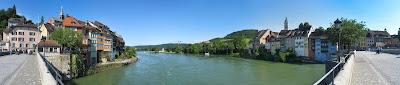 Blick von der Rheinbrücke