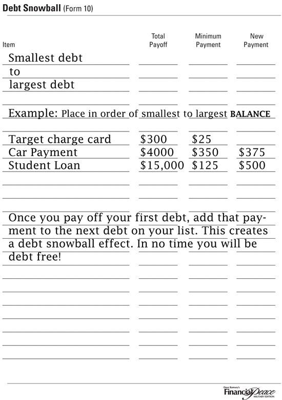 part 6  u2013 organizing your finances week u2026 debt free stories