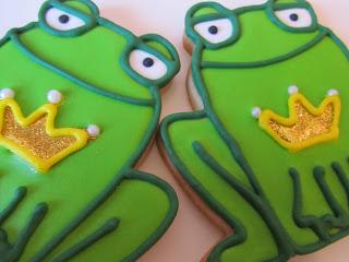 Galletas decoradas ranas