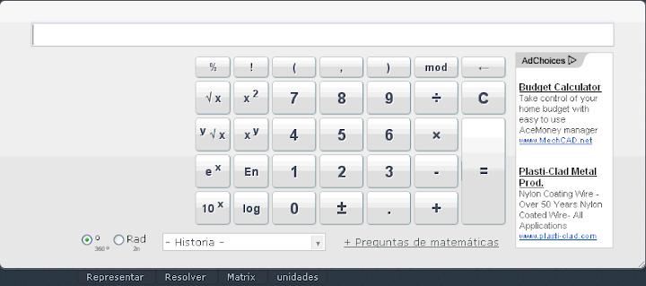 Calculadora 2012