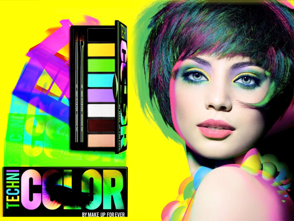 Make Up Forever TechniColor Palette For Spring 2013