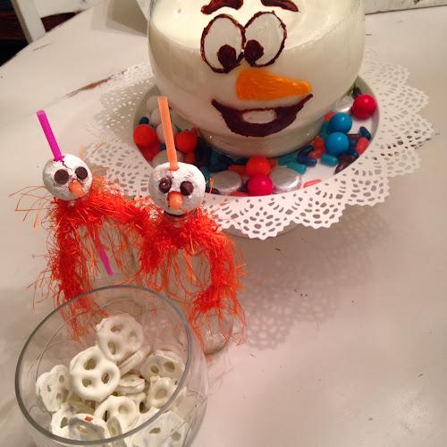 Donut holes, Olaf, Disney's frozen movie snowman