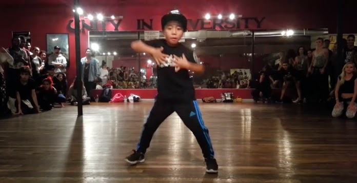 8-year-old aidan prince dance jet blue jet watch and you'll be impressed