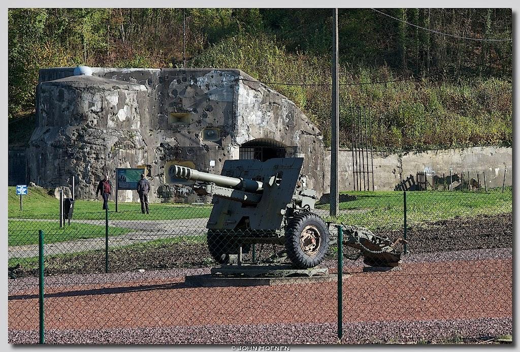 Ingang Fort Eben Emael, John Hoenen