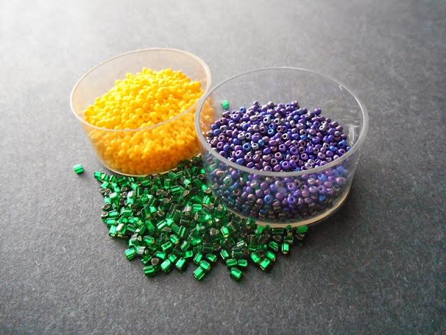 Emerald Garden Bead Color Idea