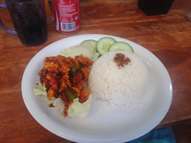 My favorite dish in Sandakan, Borneo