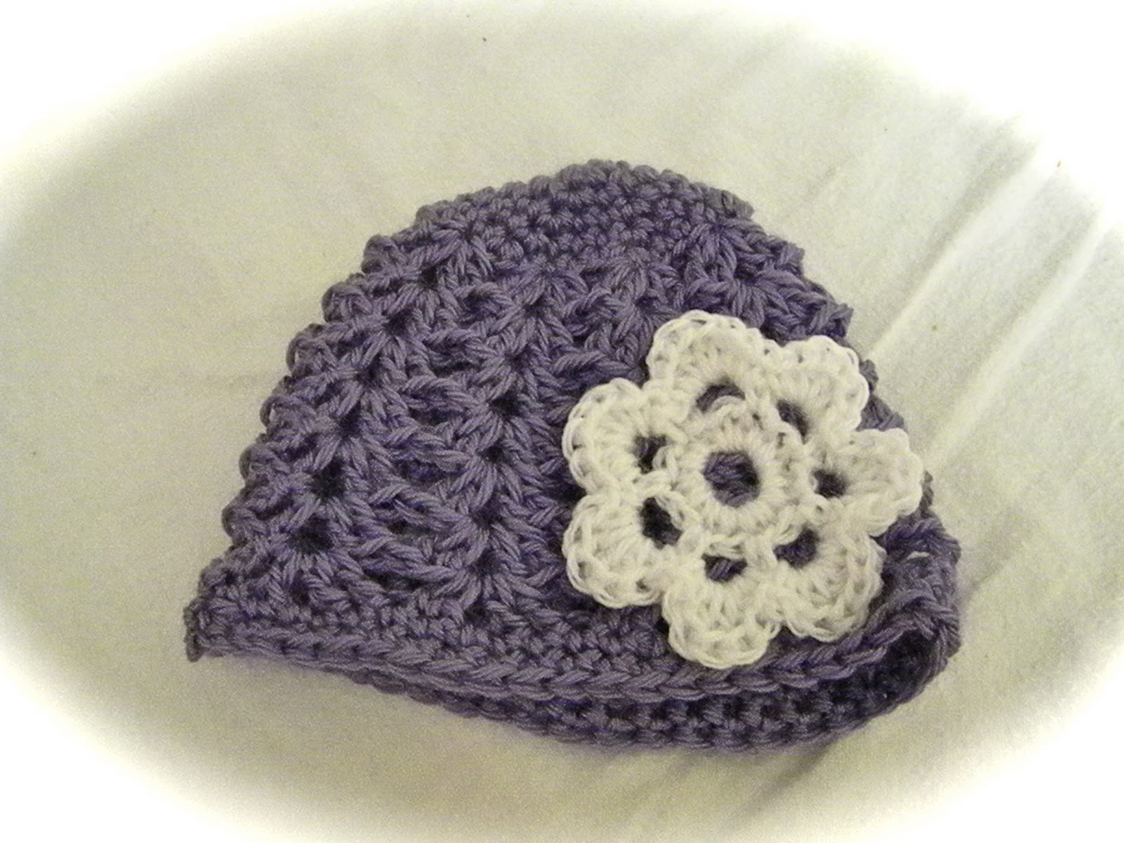 Crochet Shell Beanie Hat Pattern : Knotty Knotty Crochet: Shell Stitch Beanie