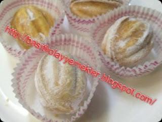 ceviz kabuğu kurabiye tarifi