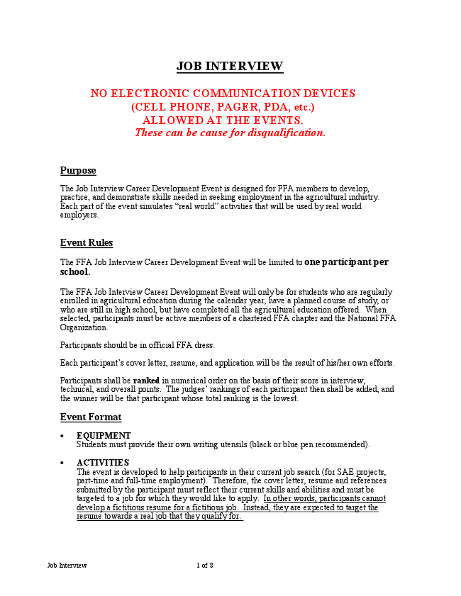 Job interview livebinder for Covering letter for job interview