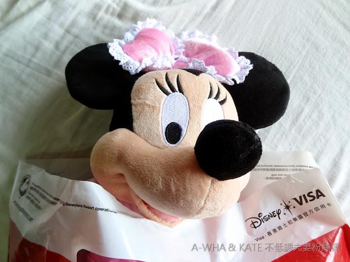 【香港迪士尼】Disney購物指南必買紀念品特輯:Minnie米妮玩偶開箱