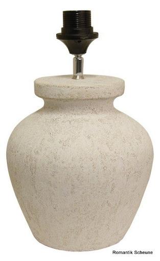 keramik leuchte tischlampe mediterran antiklook wei old. Black Bedroom Furniture Sets. Home Design Ideas