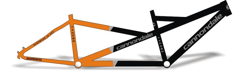 Armario Antiguo Restaurado ~ Stickers Design Adesivo Bike Cannondale Tandem 2 0