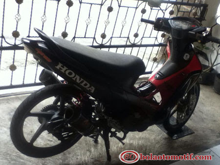 Honda Supra 125 Modifikasi