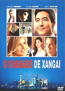 Filme Poster O Chamado de Xangai DVDRip XviD & RMVB Dublado