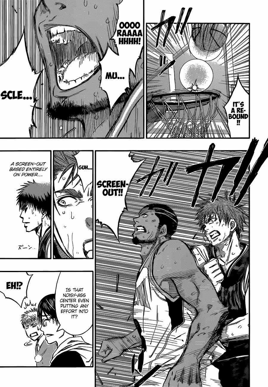 Kuroko no Basket Manga Chapter 244 - Image 03
