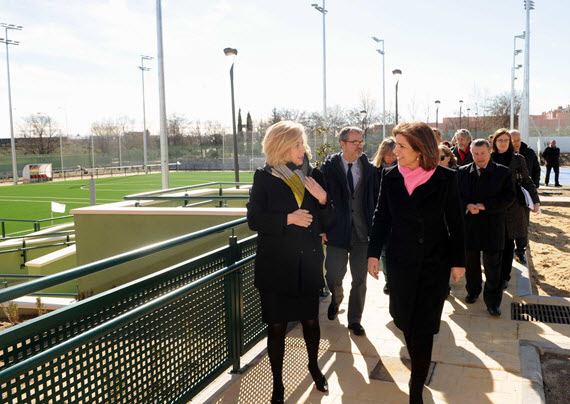 La nueva Instalación Deportiva 'María de Villota' en Butarque abre en primavera
