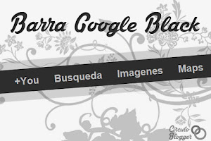 Barra Google Black