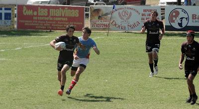 Huber traslada la pelota, Salta cayo en M-18 ante Santa Fe