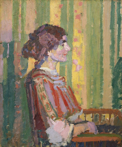 Harold Gilman - Stanislawa de Karlowska (Mrs. Robert Bevan)