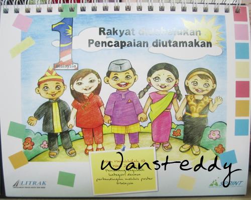 Selepas sertai contest melukis poster anjuran Litrak tahun 2008, aku ...
