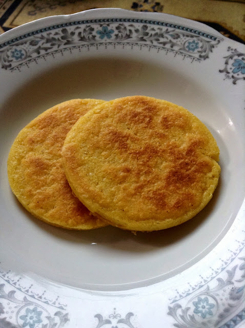Arepa tradicional colombiana stefy saz arte hm for Cocina tradicional definicion