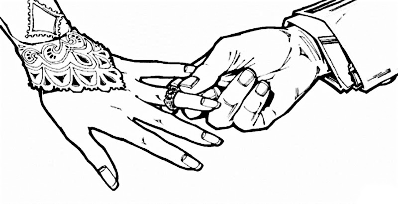 Images of Wedding ring coloring pages