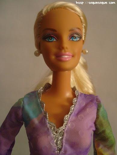 Diseños OOAK DIY by Taque-Taque para Barbie Fashionista: detalle del busto