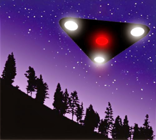 Ufo Sighting In Oregon On June 22Nd 2013 Red Lights Traveling From West To East Forming A Pattern