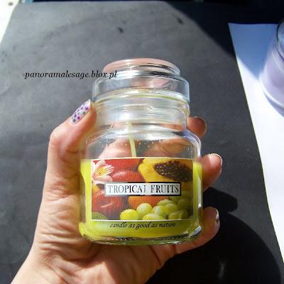 świece świeczki zapachowe yankee candle Bartek Candles świece w szkle pachnące wanilia lawenda cocos owoce tropikalne