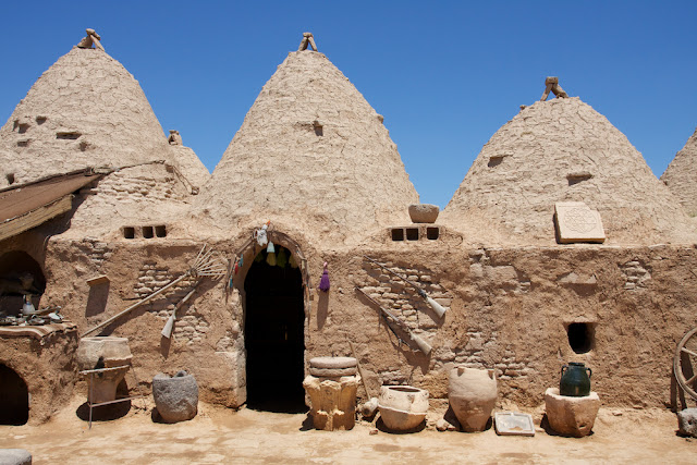 beehive houses in Harran