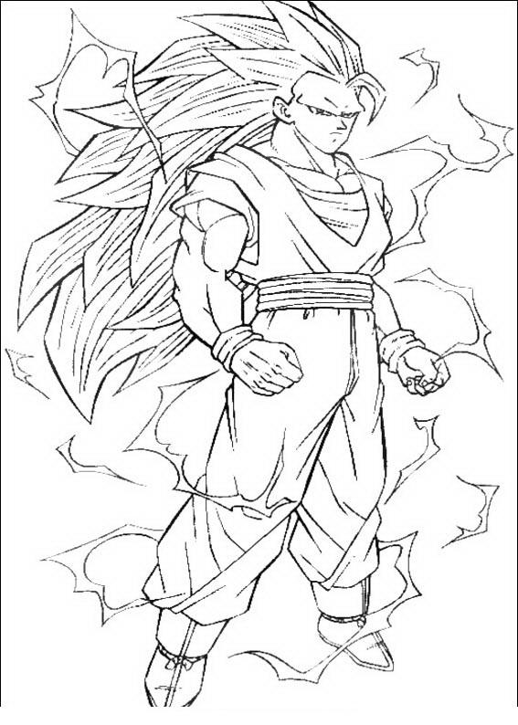 Imagenesde99 Imagenes Para Dibujar De Goku Fase 4