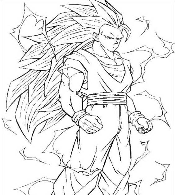 Imagenesde99: Imagenes Para Dibujar De Goku Fase 4