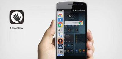 Glovebox: la interfaz de Ubuntu Phone OS en Android