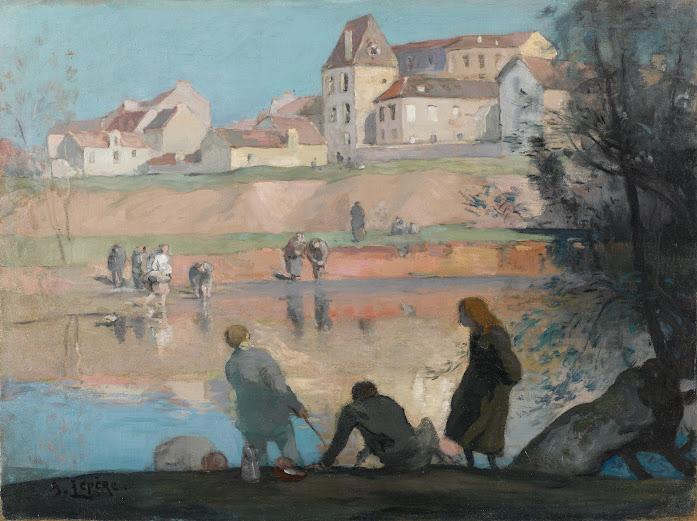 Restauration de La Bièvre à Gentilly, Auguste Lepère, début XXème siècle