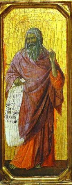 Isaiah, Duccio Di Buoninsegna, c. 1310