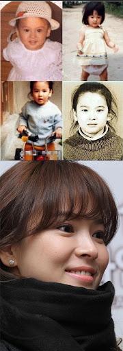 Foto Masa Kecil Song Hye Kyo Beredar Luas