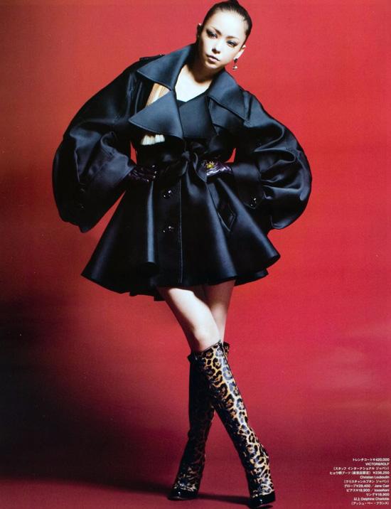 Namie Amuro in WWD magazine | Magazine shoot