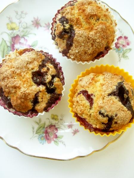 muffin light ai mirtilli