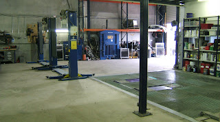 Our fantastic fully equipped workshop