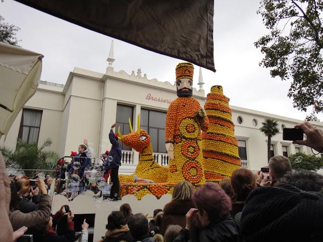 défilé fête du citron