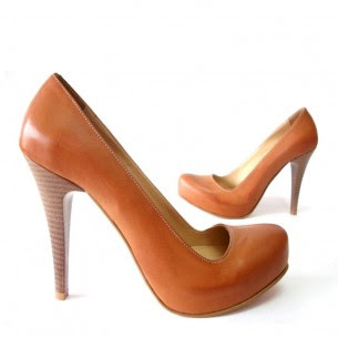 kahverengi topuklu
