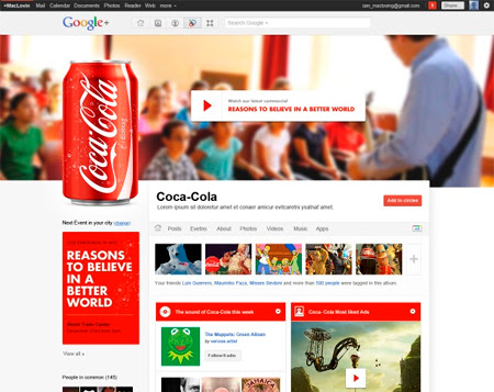 Las Empresas, Negocios y Marcas ya pueden tener paginas en Google+