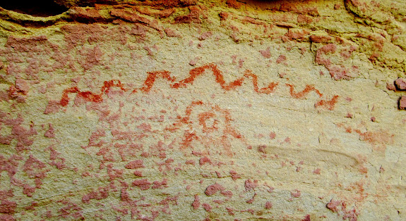 Pictograph near the Fairy